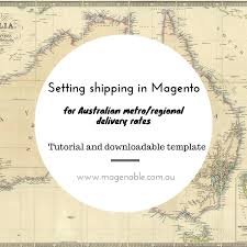 Magento Australia Shipping Rates Tutorial Regional Metro