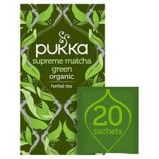Pukka <b>Supreme Matcha Green 20</b> Tea Bags 30G - Tesco Groceries