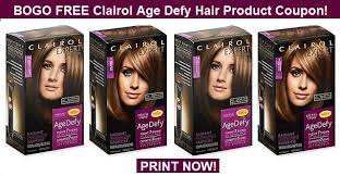 Clairol provides a number of quality hair care items at an affordable price. Bogo Free Clairol Age Defy Hair Product Coupon Print Now Cvs Couponers
