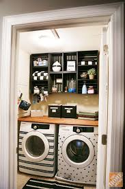 ... Unique Interior Replacement Stainless Patterns Machine Stickers Small Laundry  Room Makeover ...