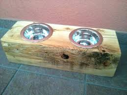 pet food stands pet food bowl stand dog food dishes stands rustic wood pet feeder wooden pet food stands