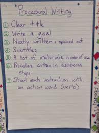 Mr Pouliots Classroom Blog Procedural Writing Assignment