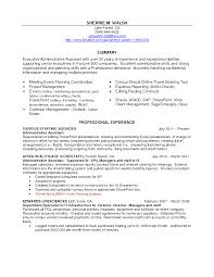 Administrative Assistant Resume Key Words Tufts University