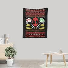 a very mercy christmas wall tapestry  on christmas wall art tapestry with a very mercy christmas wall tapestry once upon a tee