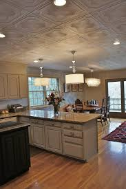 ceiling decorating ideas - decorative ceiling tiles on kitchen ceiling,  from Bella Tucker Decorative Finishes