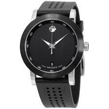 movado men s watch stainless steel 606507 men s casual watch movado men s 0606507 museum stainless steel watch