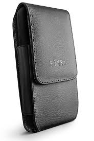 provide added protection to your cell phone with leather smartphone holsters