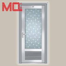 aluminium bathroom doors types of bathroom single doors design