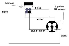oxygen sensor wire diagram honda tech honda forum discussion 4 wire o2 sensor test at O2 Sensor Wiring