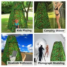 Outdoor Bathroom Tent Leapair Shower Tent Portable Camping Beach Toilet Pop Up Tents