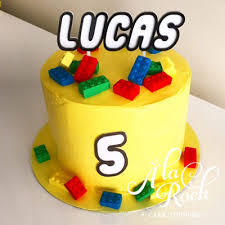 Lego Name Cake Topper