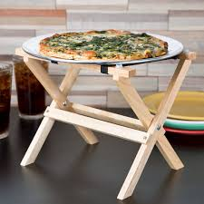 Tablecraft Rtt21n 9 14 Mini Table Tray Stand With Natural Finish