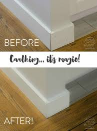 Best Caulk For Trim Remodelaholic Why You Need To Start Caulking Tips