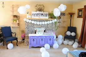 how to decorate a living room for a birthday party home round