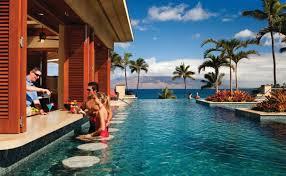 pool bar. Serenity Pool Bar At Four Seasons Resort Maui Wailea