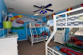 ... Pictures Car Bedroom Theme Cars Themed Room Bunks 650x433 9 On Bedroom  ...