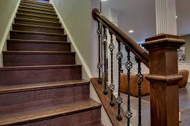 Good Looking Dark Basement with Wood Steps Staircase czmcamorg