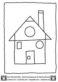 Small Picture Shapes Coloring Pages GetColoringPagescom