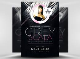 15 Free Black And White Party Flyer Psd Templates Designyep