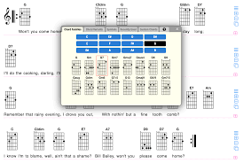 Chord Chart Builder Gochords An Easy To Use Tool For Creating Simple Lead