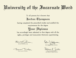 university of the incarnate word tassel edition diploma frame in  university of the incarnate word tassel edition diploma frame in southport item 234045