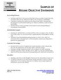 Resume Objective Samples In For Freshersles Entry Level Warehouse