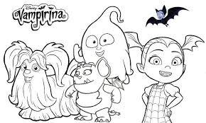 Disney Vampirina Coloring Page Collection Vampirina Party