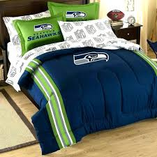 seattle seahawks bed set 5 piece full bed set on comforter twin