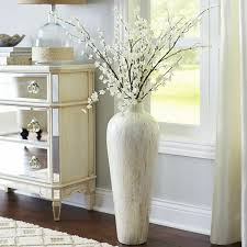 Large Floor Vase White Vase Bright