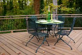 green wrought iron patio furniture. deck_after_wrought iron table and chairs green wrought patio furniture i