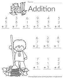 Printable Addition Worksheets First Grade Worksheets for all ...