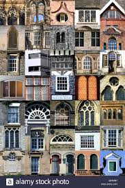 The sheer diversity of architecture and window design over history in  Europe showing a multiplicity of styles