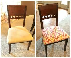 how to reupholster a dining room chair seat and back chairs full size