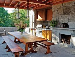 Outdoor Kitchen Designs With Pizza Oven Outdoor Kitchen Pizza Oven Design  Homes Abc Photos