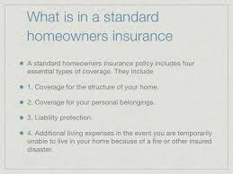 standard home insurance citizens property