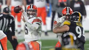 Browns Chiefs line weather Baker ...