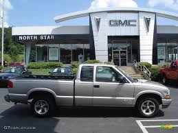 2000 Light Pewter Metallic Chevrolet S10 LS Extended Cab #16104650 ...