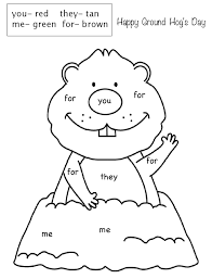 cb54531dd52f9ba0aef8aba902d0a074 kindergarten groundhog day groundhog day activities 75 best images about first grade sight word morning work on on sight words handwriting worksheets