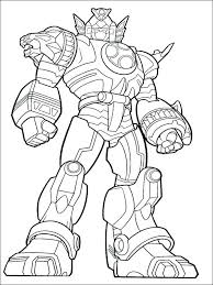Fresh Megazord Coloring Pages Power Rangers 2 Dino Charge Page
