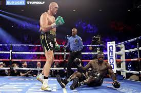 Tyson Fury finished Deontay Wilder in ...