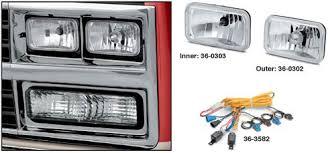 custom headlights dual headlight models 1989 91 chevrolet s10 headlight wiring diagram at 91 Gmc Headlight Wiring