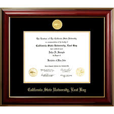 california state university east bay classic diploma frame  california state university east bay classic diploma frame