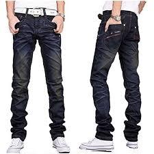 Amazon Designer Jeans New Mens Designer Jeans Casual Dark Blue Denim Mens Pant Trousers Jeans