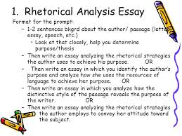 critical analysis essay example paper essay reflection paper  ap response essay portion ppt video online rhetorical analysis essay