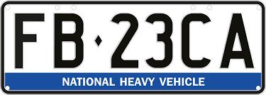 national heavy vehicle plates nhvr