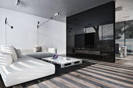 Monochrome Living Room Decorating Unbound Smoke Gray Feet Area Rug Dramatic Monochrome Lounge Palm