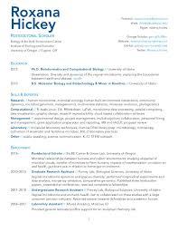 Bioinformatics Resume Hickey Cv Oct 2016 Resume Template Ideas Bioinformatics