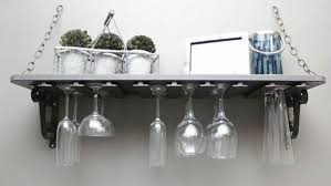 wine glass rack pottery barn. Diy Wine Glass Shelf Knock It Off The Live Well Network For Rack Remodel 8 Pottery Barn C