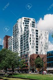 famous architecture buildings. Simple Architecture Rottedam The Netherlands  August 6 2016 Modern Architecture Buildings  With Colorful Glass In Famous Architecture Buildings