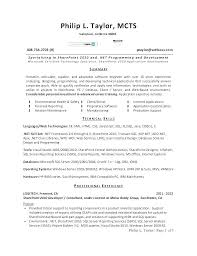 Sample Cover Letter Programmer Best Of Programming Resume Examples
